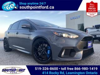 Used 2017 Ford Focus RS RS|NAV|HTD SEATS|HTD STEERING|SUNROOF|SUMMER & WINTER TIRES for sale in Leamington, ON