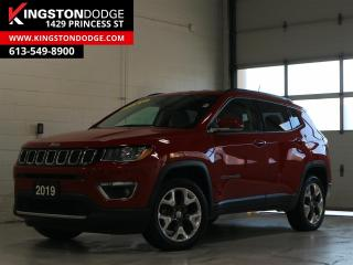 Used 2019 Jeep Compass Limited | 4X4 | Heated Seats | Remote Start | for sale in Kingston, ON