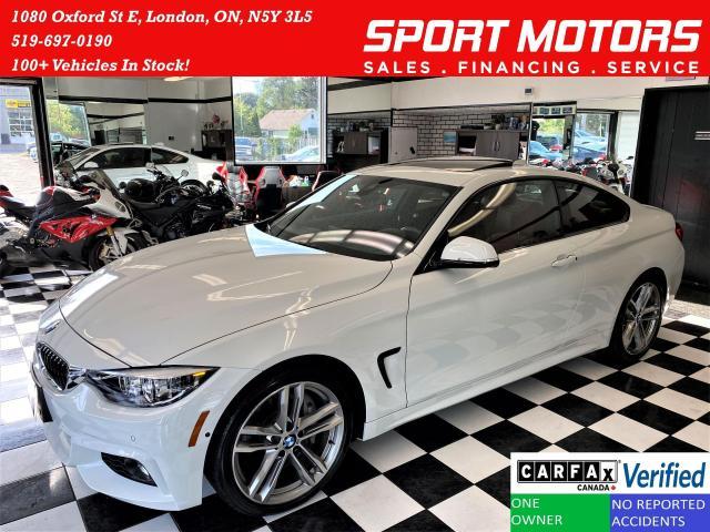 2019 BMW 4 Series 440i xDrive TECH+RedLeather+360Camera+CLEAN CARFAX