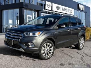 Used 2018 Ford Escape Titanium Accident Free! Local! Ultra Low Mileage! for sale in Winnipeg, MB