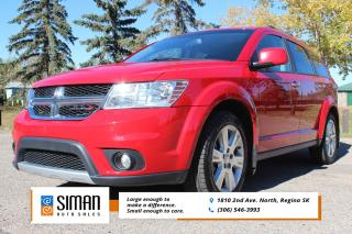 Used 2013 Dodge Journey R/T LEATHER DVD AWD for sale in Regina, SK