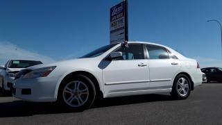 Used 2007 Honda Accord EX-L for sale in Brandon, MB