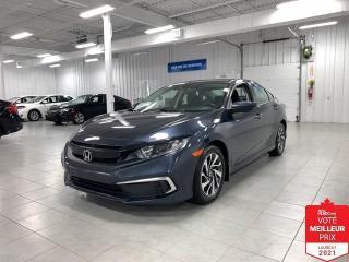 Used 2019 Honda Civic EX - CARPLAY + TOIT + JAMAIS ACCIDENTE !!! for sale in Saint-Eustache, QC