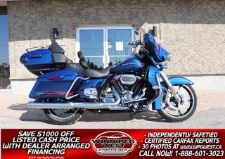 Used 2020 Harley-Davidson FLHTKSE CVO Ultra Limited Screamin Eagle 117 CU INCH M8 *STUNNING & STILL NEW* ONLY 1K KMS! for sale in Headingley, MB