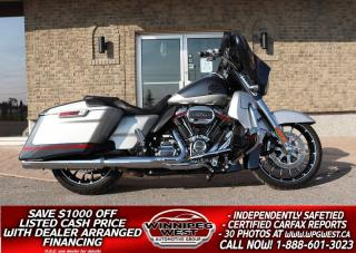 Used 2019 Harley-Davidson FLHXS E CVO Street Glide Touring 117 CU INCH M8 *STUNNING & STILL NEW* ONLY 4K KMS! for sale in Headingley, MB