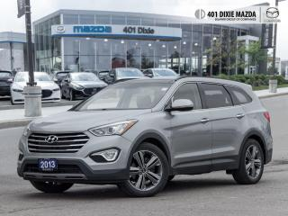 Used 2013 Hyundai Santa Fe Limited FINANCE AVAILABLE| ONE OWNER| NO ACCIDENTS for sale in Mississauga, ON