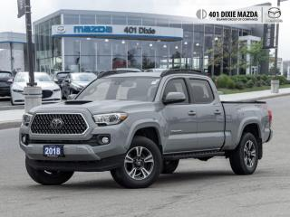 Used 2018 Toyota Tacoma SR5 FINANCE AVAILABLE| NO ACCIDENTS| NAVIGATION for sale in Mississauga, ON