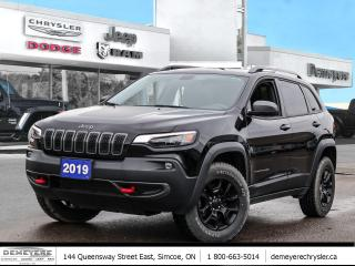 Used 2019 Jeep Cherokee Trailhawk 4X4 for sale in Simcoe, ON