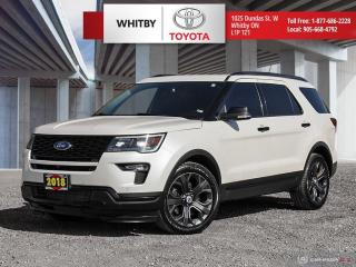 Used 2018 Ford Explorer SPORT for sale in Whitby, ON