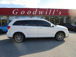 Used 2012 Dodge Journey RT! 7 PASSENGER! CLEAN CARFAX! for sale in Aylmer, ON
