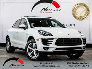 Used 2018 Porsche Macan PREMIUM PLUS PACKAGE/GARNET RED LEATHER/BOSE/NAV for sale in Vaughan, ON