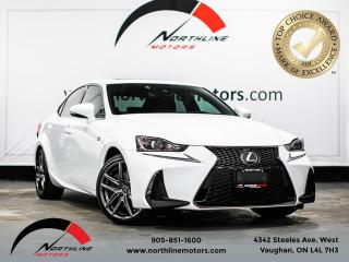 Used 2019 Lexus IS IS 300/RED LEATHER/ F SPORT/BACKUP CAM/SUNROOF for sale in Vaughan, ON