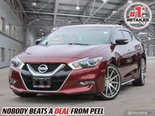Used 2016 Nissan Maxima SR for sale in Mississauga, ON