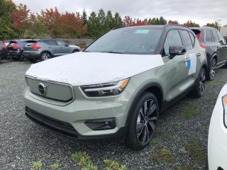New 2022 Volvo XC40 Recharge Pure Electric P8 Plus for sale in Surrey, BC
