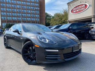 Used 2014 Porsche Panamera RED INT | CLEAN CARFAX | AWD | NAV | NICHE RIMS for sale in Scarborough, ON