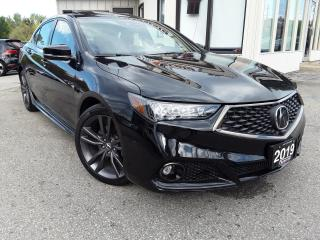 Used 2019 Acura TLX SH-AWD A-Spec Elite - RED LEATHER! NAV! 360 CAM! BSM! DRIVING AIDS! for sale in Kitchener, ON