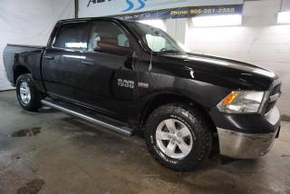 Used 2013 RAM 1500 ST 4x4 CERTIFIED *FREE ACCIDENT* CRUISE ALLOYS RUNNING BOARDS CREW CAB for sale in Milton, ON