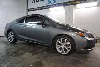 Used 2012 Honda Civic 2.4L SI COUPE CERTIFIED 2YR WARRANTY *FREE ACCIDENT* BLUETOOTH NAV AUX CRUISE SUNROOF for sale in Milton, ON