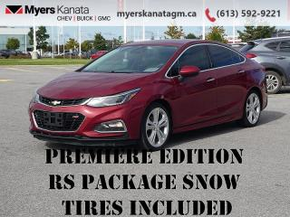 Used 2017 Chevrolet Cruze Premier  - Leather Seats for sale in Kanata, ON