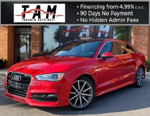 Used 2016 Audi A3 2.0T Progressiv S-Line Back-Up Camera Sunroof Leather Heated Seats for sale in North York, ON