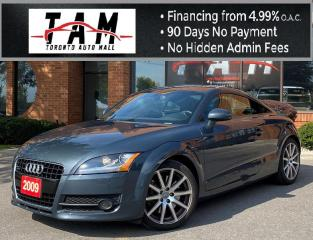 Used 2009 Audi TT 3.2 L 6-Speed Manual Leather Heated Seats Full Service History for sale in North York, ON