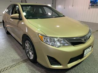Used 2012 Toyota Camry LE #Low Kms #Bluetooth for sale in Brandon, MB