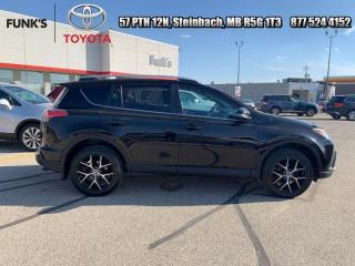 Used 2016 Toyota RAV4 SE  - Navigation -  Sunroof -  Leather Seats for sale in Steinbach, MB