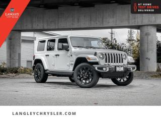New 2021 Jeep Wrangler Unlimited Sahara 4xe  - Heated Seats for sale in Surrey, BC