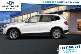 Used 2013 BMW X3 xDrive28i  - $137 B/W for sale in Abbotsford, BC