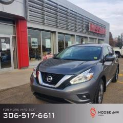 Used 2017 Nissan Murano SL for sale in Moose Jaw, SK