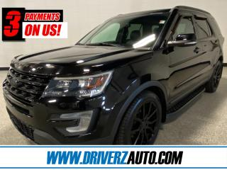 Used 2016 Ford Explorer Sport HEATED LEATHER, ROOF, NAV, AND MUCH MORE.. for sale in Calgary, AB