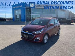 New 2022 Chevrolet Spark 1LT for sale in Selkirk, MB