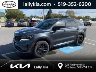 Used 2021 Kia Sorento 2.5T SX w/Burgundy Leather SX AWD w-Burgundy Leather #Loaded for sale in Chatham, ON