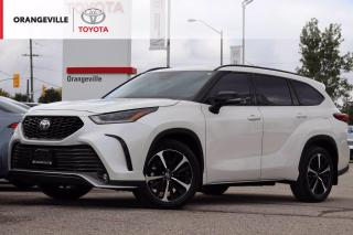Used 2021 Toyota Highlander XSE, AWD, ANDROID AUTO, APPLE CARPLAY, HEATED SEATS, SUNROOF, LANE KEEPING ASSIST for sale in Orangeville, ON