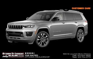 New 2021 Jeep Grand Cherokee L Overland for sale in Ottawa, ON