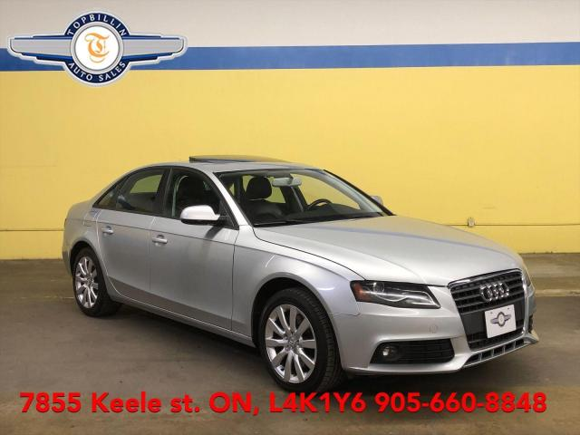 2010 Audi A4 2.0T, Leather, Roof, 2 Years Warranty