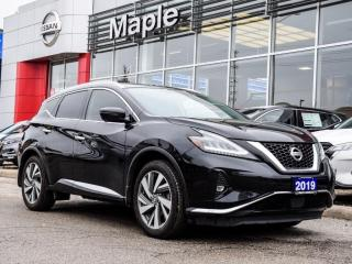 Used 2019 Nissan Murano SL AWD Navi Apple Carplay Remote Start Blind Spot for sale in Maple, ON