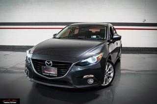 Used 2016 Mazda MAZDA3 SPORT GT I NAVIGATION I LEATHER I SUNROOF I REAR CAM for sale in Mississauga, ON