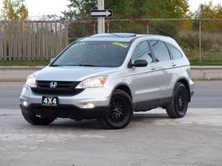 Used 2010 Honda CR-V 4WD,EX-L,NAVIGATION,BACK-CAM,LEATHER,CERTIFIED,CLEAN CARFAX for sale in Mississauga, ON