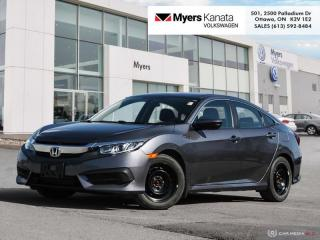 Used 2017 Honda Civic Sedan LX  - A/C -  Bluetooth for sale in Kanata, ON