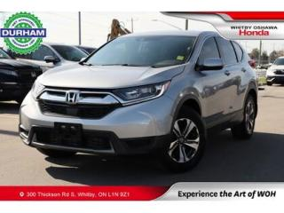 Used 2018 Honda CR-V LX AWD Apple Carplay/Android Auto Backup Cam for sale in Whitby, ON