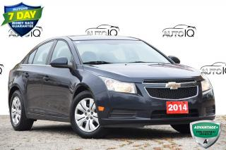 Used 2014 Chevrolet Cruze 1LT SIRIUS XM | AUTOMATIC | CLIMATE CONTROL for sale in Kitchener, ON