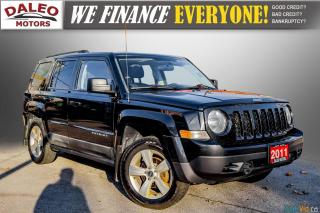 Used 2011 Jeep Patriot NORTH/ 4WD / HEATED SEATS / REMOTE START / 1 OWNER for sale in Hamilton, ON