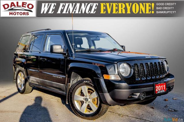 2011 Jeep Patriot NORTH/ 4WD / HEATED SEATS / REMOTE START / 1 OWNER