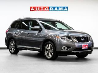 Used 2016 Nissan Pathfinder Platinum AWD Nav Leather Sunroof Backup Cam for sale in Toronto, ON