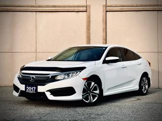 Used 2017 Honda Civic LX AUTO BACK-UP CAMERA CERTIFIED $16999 for sale in Brampton, ON
