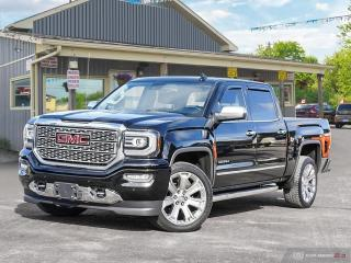 Used 2018 GMC Sierra 1500 Denali,ONE OWNER,LOW KMS,LOADED,4X4,CREWCAB for sale in Orillia, ON