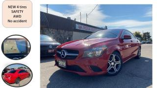 Used 2016 Mercedes-Benz CLA-Class AUTO LOW KM NO ACCIDENT NAVIGATION B-CAMERA B-TOOT for sale in Oakville, ON