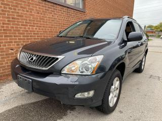 Used 2009 Lexus RX 350 LEATHER/SUNROOF/SAFETY AND WARRANTY for sale in Oakville, ON