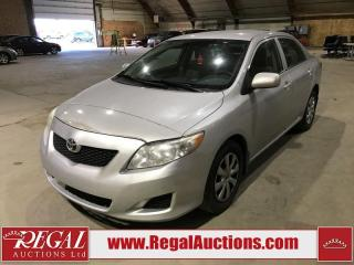 Used 2010 Toyota Corolla CE for sale in Calgary, AB